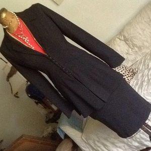 Grey heather stretch suit